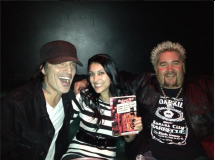 Tommy Lee and Guy Fieri, Viper Room, 2012.